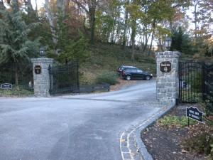 Brandywine Falls Entrance